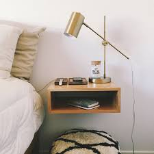 night stand ideas cool floating nightstand ideas for your bedroom design swan