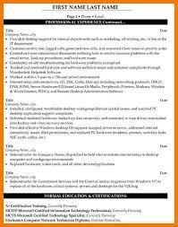 10 tech support resume sample mbta online