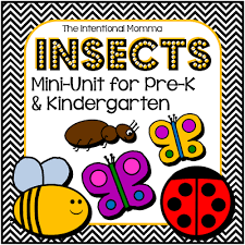insects and bugs u2013printable pack the intentional momma