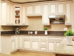 Kitchen Cabinet Glaze White Glazed Kitchen Cabinets Antique White Maple Glaze Kitchen