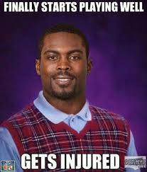 Mike Vick Memes - gets injured meme