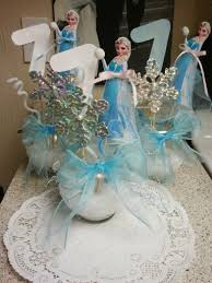 Centerpieces For Birthday by Best 25 Frozen Centerpieces Ideas On Pinterest Frozen Theme