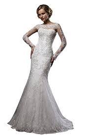 lace mermaid wedding dress cloverdresses boat neck lace mermaid wedding dresses for