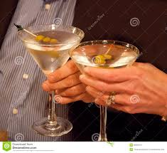 martini toast a toast heres to you stock image image of here woman 36695079