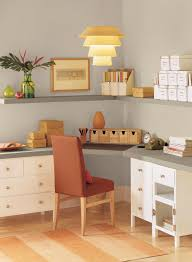 neutral home office ideas simple striking home office paint