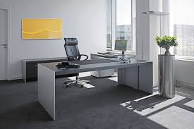Modern Glass Desk With Drawers Office Desk Modern Glass Desk Contemporary Desk Oak Desk Glass