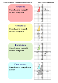 transformations congruency and similarity classroom math