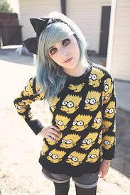 bart sweater black bart romwecom sweaters black bow hair accessories