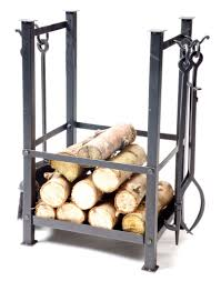 beautiful fireplace tools with log holder part 11 black wrought