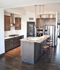 kitchen cabinet stain colors on alder kitchens wardcraft homes wardcraft homes