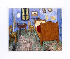 the bedroom van gogh van gogh the bedroom large matted print the museum shop of the