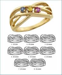 mothers ring 7 stones custom mothers rings in gold platinum free shipping mothers ring 8