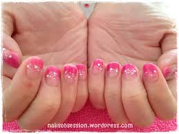 the pink u0026 red cny u2013 final gelish nails nail pictures and