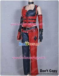 Batman Arkham Halloween Costumes Batman Arkham Cosplay Harley Quinn Costume U20ac199 00