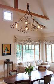 tree branch chandelier 30 sculptural diy tree branch chandeliers to realize in an