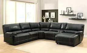 7 Seat Sectional Sofa by Black Leather Sectional Recliner Sofa Black Leather Recliner Sofa