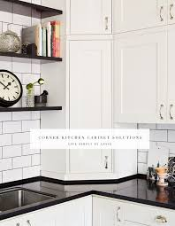 how to deal with the blind corner kitchen cabinet live simply by