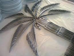 silverware palm tree centerpiece wicked good travel tips
