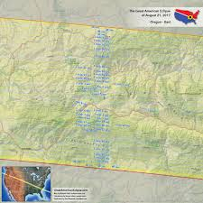 Oregon Map by Oregon Eclipse U2014 Total Solar Eclipse Of Aug 21 2017