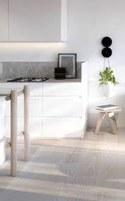 parquet cuisine parquet pas cher couleur clair idee cuisine style industriel bois