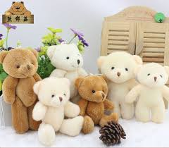 teddy bears girl toys mini teddy 6 bears doll animal small teddy