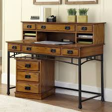 shop home styles modern craftsman executive desk at lowes com
