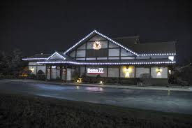 Exterior Commercial Christmas Decorations by American Holiday Lights Installation Company Chicago Residential