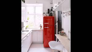 red smeg fridge for kitchens youtube