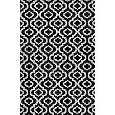 Black And White Modern Rugs Black And White Area Rugs