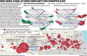 Bad Parts Of Chicago Map Wide Awake New O U0027hare Flight Paths Spark Complaints Far Beyond
