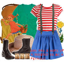 Pippi Longstocking Costume The Lovely Side Halloween Costume Inspiration 1