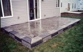 Done Deal Patio Slabs How To Make A Stone Patio Deck Home Outdoor Decoration