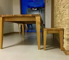 Esszimmertisch In Eiche Massiv Esstisch Eiche Mit Schweizer Kante Holzdesign Rapp Geisingen
