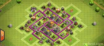 coc map layout th6 th6 farming base 2 air defenses balanced protection