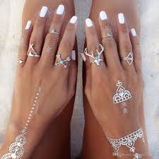 knuckle rings set images 2016 vintage knuckle ring sets for women elepant dear animal rings jpg