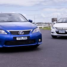 lexus ct200h vs audi a3 tdi hybrid comparison review lexus ct 200h and honda insight