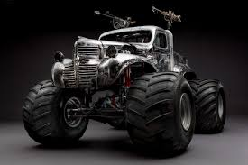 original bigfoot monster truck dodge fargo 1940