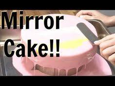 how to make a mirror glaze cake a cake decorating video cake