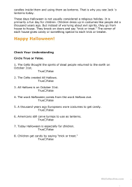 halloween printable worksheets and halloween close reading passages text dependent questions more