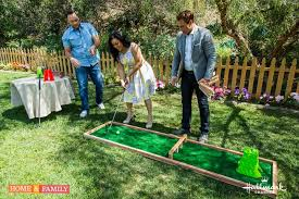 How To Make A Golf Green In Your Backyard by Diy Friday This Homemade Miniature Golf Course Is Perfect For