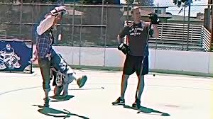 Learn Bench On The Bench Jeff Carter Learning The Fundies On How To Celly