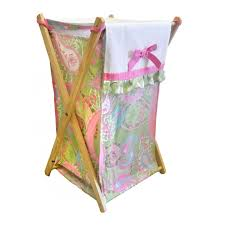 Kids Laundry Hampers by Baby Nursery Cool Dirty Clothes Hampers For Baby Pink Pattern
