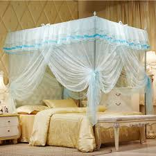 Lace Bed Canopy 55 Off Mosquito Net Bed Canopy Lace Luxury 4 Corner Square