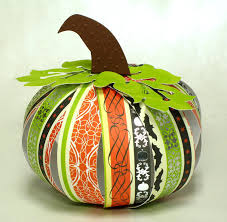 the paper boutique how to make 3 d pumpkins using card stock and