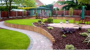 Simple Landscape Design by Hill Front Yard Landscaping Designs Dream Houses