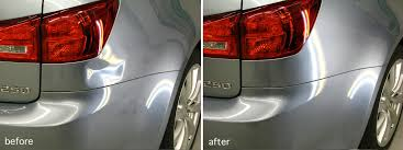 lexus es 350 rear bumper replacement lexus es350 dent repair dentkraft pdr