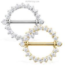 gold nipple rings images 14k real gold nickel free internally threaded nipple ring shield jpg