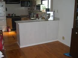 fabriquer un comptoir de cuisine en bois fabrication comptoir pour cuisine à l americaine