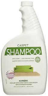 Biokleen Carpet Rug Shampoo Genuine Kirby Pet Owners Foaming Carpet Shampoo Lavender Scented