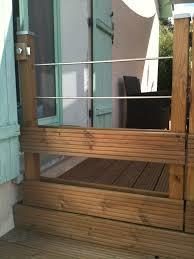 terrasse suspendue en bois fabriquer un garde corps je fais moi même